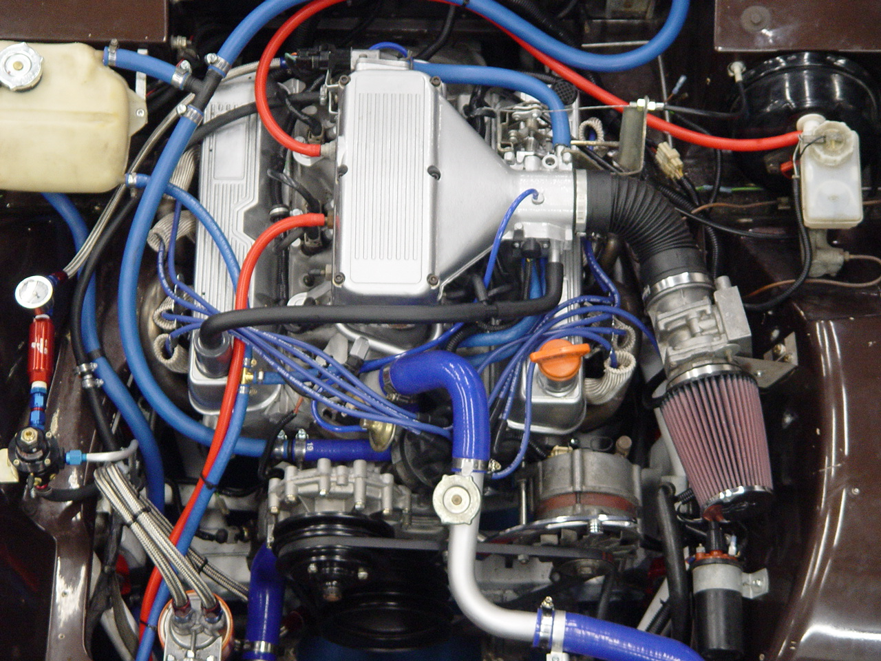 Midlife Classics Tvr 280i Rover V8 Conversion Engine Diagrams Click On An Image For A Larger View